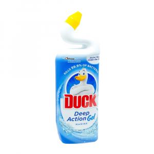 Dezinfectant toaleta gel Duck Deep Action Gel Marin, 750 ml