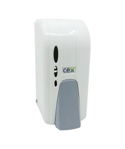 Dispenser sapun spuma CEX DS 100, 1L, alb