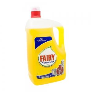 Detergent vase Fairy Professional Lemon, 5L