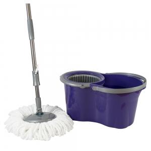 Galeata cu mop rotativ, Original Mini, bleumarin, 14 L