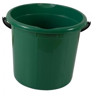 Galeata rotunda fara capac, 10l, verde