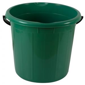Galeata rotunda fara capac, 20l, verde