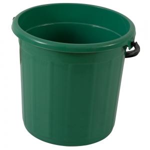 Galeata rotunda fara capac, 5l, verde