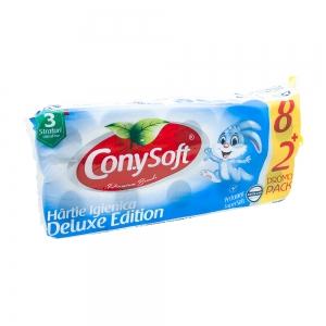 Hartie igienica ConySoft, 3 straturi, 10 role, parfumata