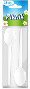 Lingurite unica folosinta, Piknik, 12 buc/set