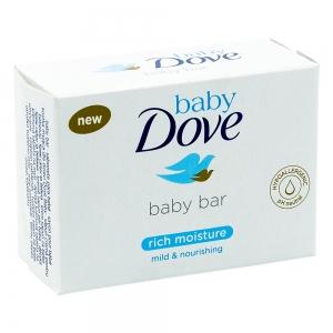 Sapun crema pentru bebelusi Dove Baby Rich Moisture, 75 gr