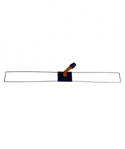 Mecanism cu rama metalica pentu mop cu buzunare, 100 cm