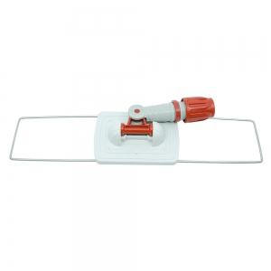 Mecanism metalic pentru mopuri cu buzunare, gri, 40 cm