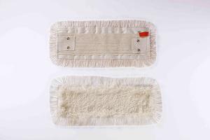 Mop plat bumbac + microfibra, cu urechi,40 cm