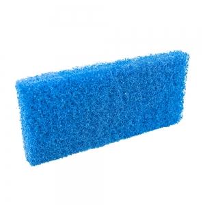 Pad fibra abraziva XXL, albastru, 12 x 25 cm