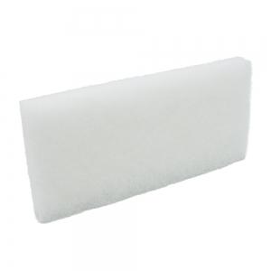 Pad fibra abraziva XXL, alb, 12 x 25 cm