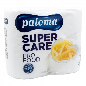 Role de prosop de bucatarie Paloma Super Care Food XXL, 2 buc/set