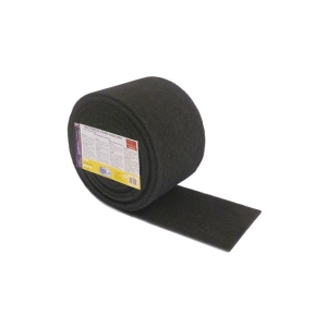 Rola fibra abraziva neagra 6 m x 0.15 m