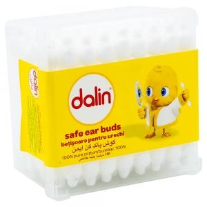 Dalin Betisoare urechi Baby, cutie 56 buc
