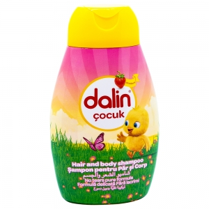 Sampon Dalin Kids, Capsuni, 300 ml