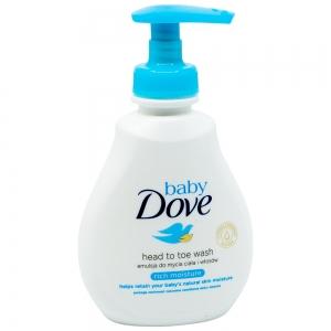 Lotiune spalare pentru par si piele Dove Baby Rich Moisture, 200 ml
