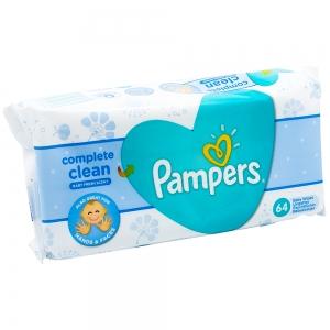 Servetelele umede Pampers Complete Clean, Fresh, 64 buc