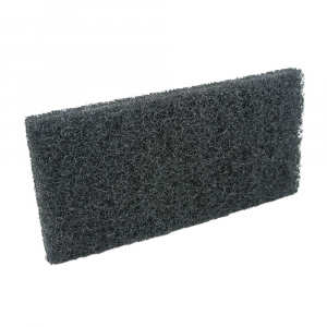 Pad fibra abraziva XXL, negru, 12 x 25 cm