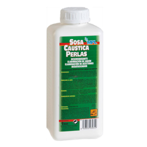Soda caustica perle, concentratie 75%, 1Kg