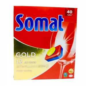 Somat Gold masina de spalat vase, 40 tablete