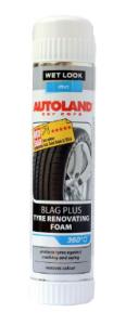 Spuma activa curatare si intretinere anvelope, Blag plus, Autoland, 400 ml
