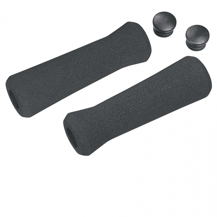 Mansoane negre Ergotec Paso 130 mm