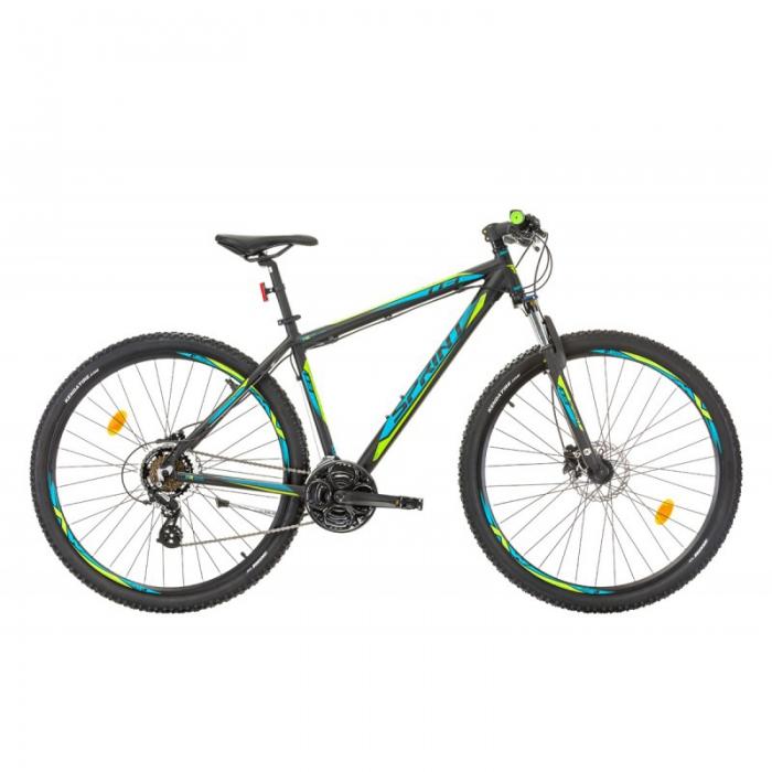 Bicicleta Sprint Maverick 29 HDB negru/albastru 2017