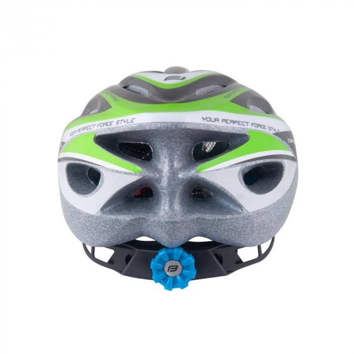 Casca Force Hal negru/verde/alb