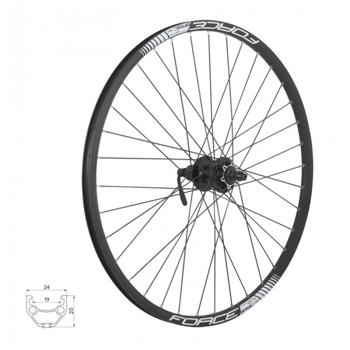 Roata 26 Force Basic Disc 559x19