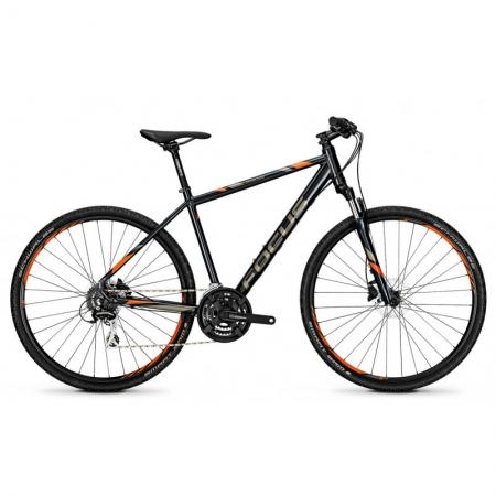 Bicicleta Focus Crater Lake EVO seablue 2018