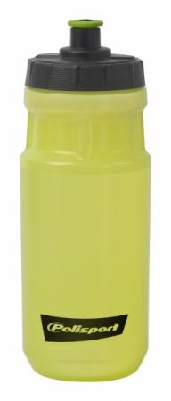 Bidon apa verde transparent Polisport