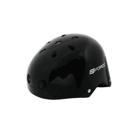 Casca Force BMX negru lucios