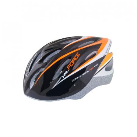 Casca Force Hal negru/portocaliu/alb