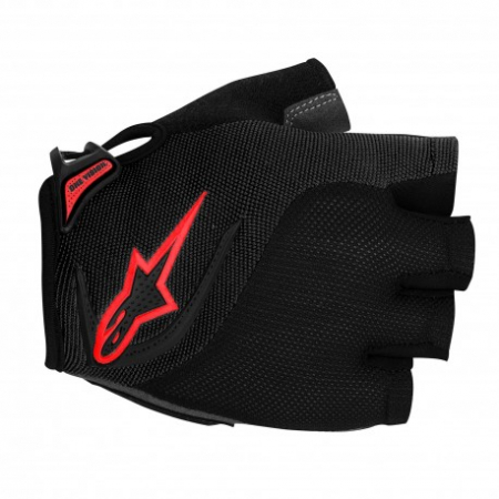 Manusi Alpinestars Pro-Light Short Finger black red