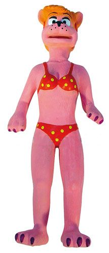 Jucarie caini Pink Lady latex, 31 cm, 12374
