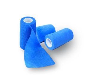 Bandaj elastic autoadeziv ALBASTRU - 10 cm