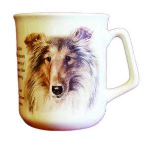 Cana ceramica The Scottish Collie - E06-1079