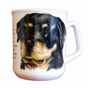 Cana ceramica Rottweiler - E06-1025