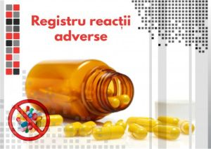 Registru reactii adverse / farmacovigilenta