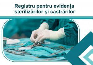 Registru pentru evidenta castrarilor si sterilizarilor