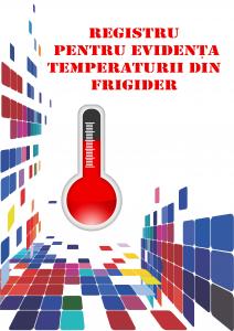 Registru pentru evidenta temperaturii din frigider