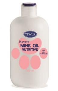 Sampon nutritiv cu ulei de nurca 500 ml, Tewua