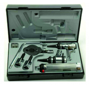 Set complet diagnostic veterinar ORL Econom Set