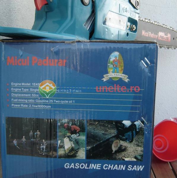 Drujba cu alimenatre pe benzina Micul Padurar 5200 2,95CP
