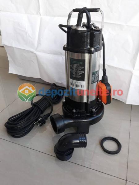 Pompa apa submersibila WQD1500DF 1500W cu tocator Deetoolz