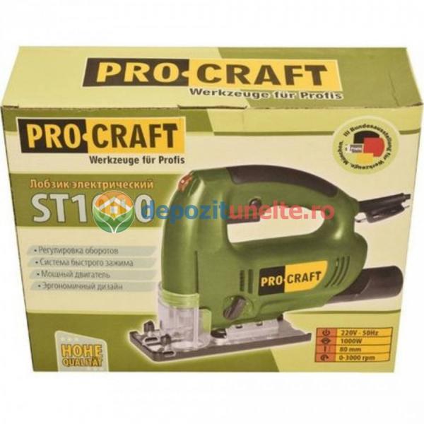 Ferastrau pendular ProCraft ST 1000W, 80mm, 45gr