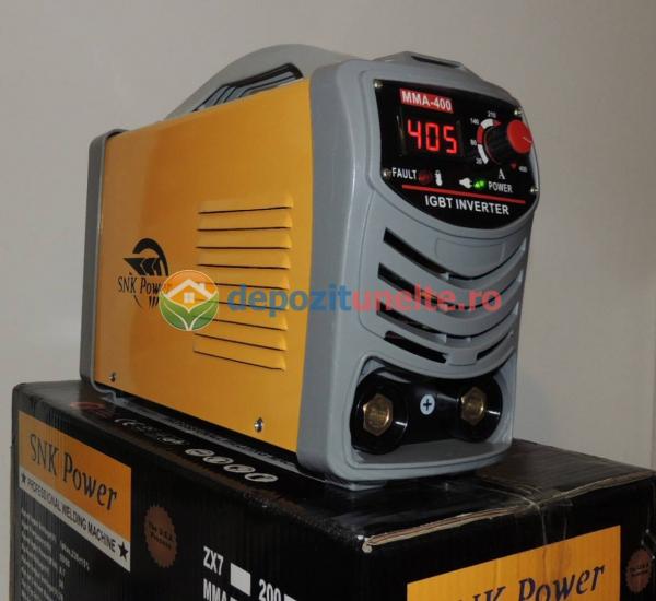 Invertor aparat sudura, putere mare, MMA-400A IGBT - SNK POWER
