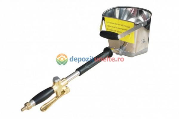 Masina tencuit pneumatica DeeToolz, 60mp/Ora, 9Bar, Dispozitiv Inox, 89DZC202