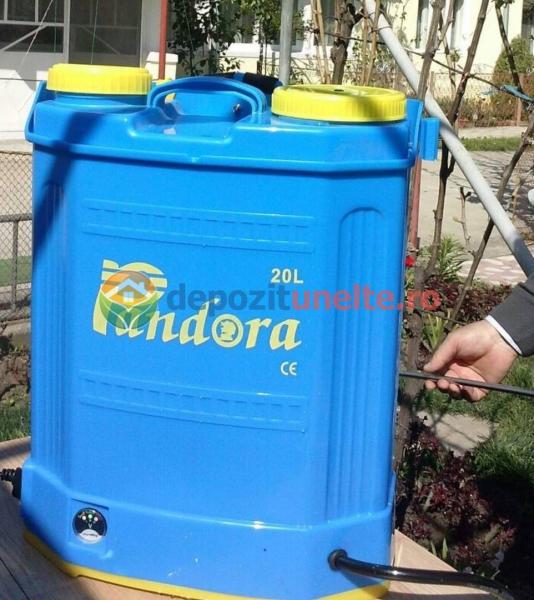 Pompa de stropit cu acumulator Pandora, 20 L - Vermorel