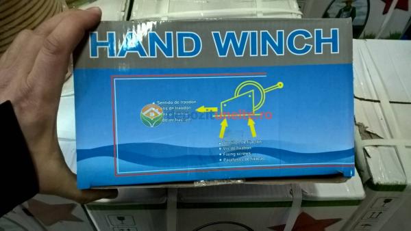 TROLIU, macara manuala - Ridicator manual - Winch manual 1000kG